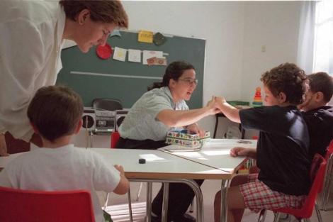 Colegio Kanner de niños autistas. | Angel Casaña.