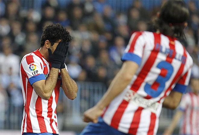 Esta vez, Diego Costa no fue decisivo. El brasileño no tuvo su mejor día.