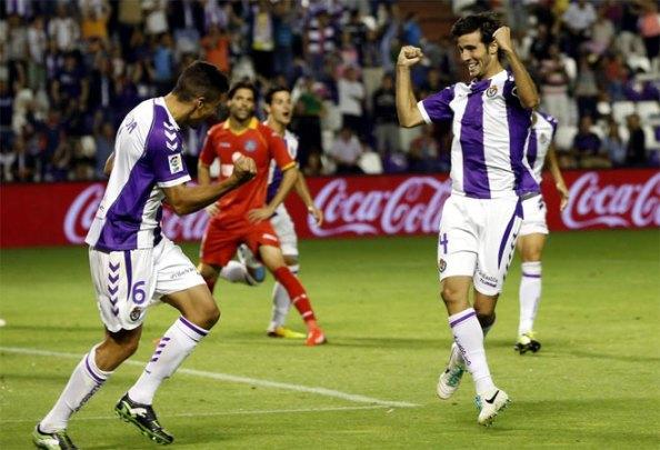 Основной целью было достаточно, чтобы Вальядолид, чтобы выиграть свою первую игру в этой лиге.