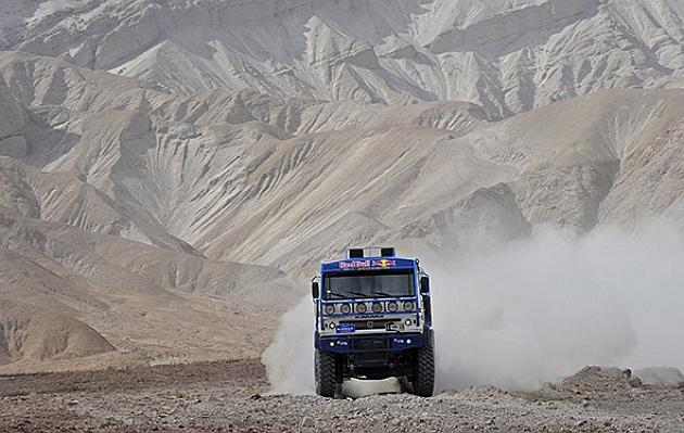 Kamaz copa el podio en camiones