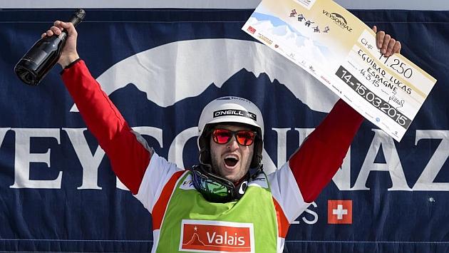 Lucas Eguíbar ganó la prueba de boardercross de Veyssonaz