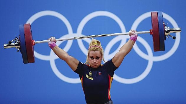 Lydia Valentín, en los Juegos Olímpicos de Londres 2012. Foto: Getty Images