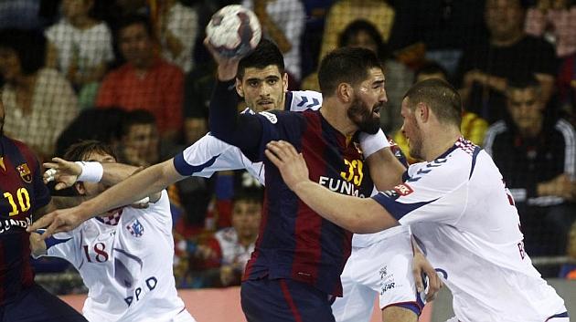 El Barça arrolla al Zagreb y alcanza la Final a Cuatro a lo grande