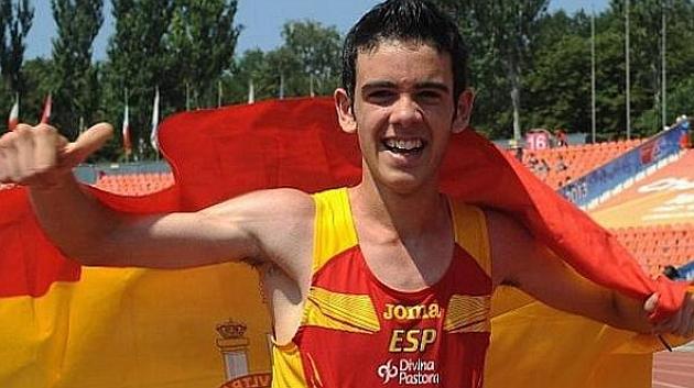 Diego García, campeón de Europa de marcha en la categoría júnior