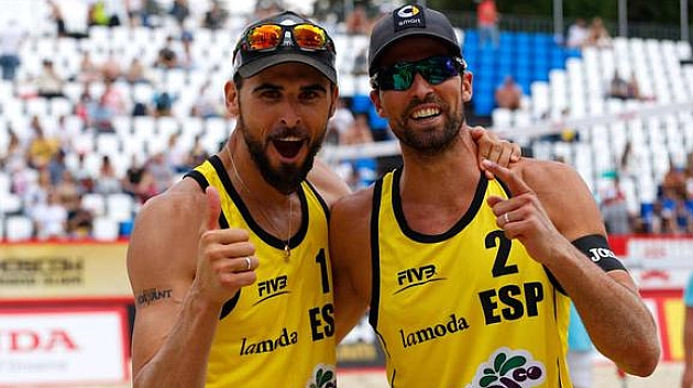Herrera y Gavira se cuelgan el oro en Moscú