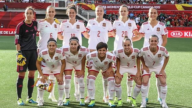 Once de la selección española ante Corea en el Mundial de Canadá
