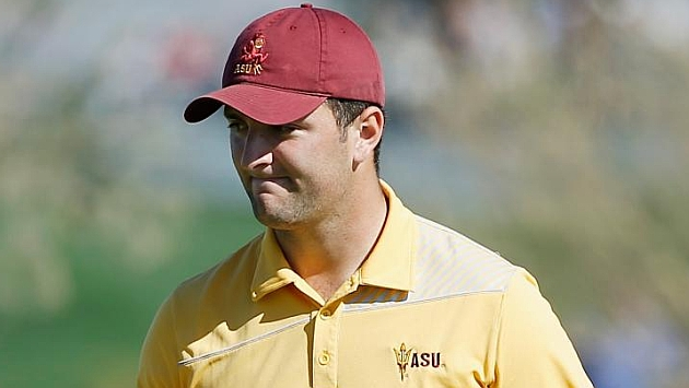 El español Jon Rahm, mejor golfista amateur del mundo en 2015
