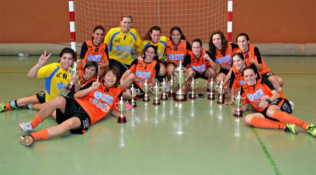 El Burela Pescados Rubén, campeón de la Supercopa