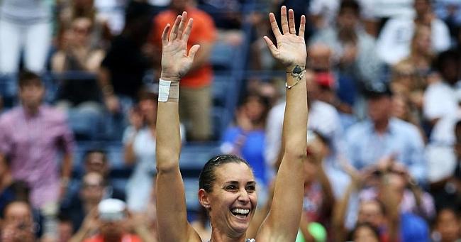 Pennetta, la más veterana en ganar su primer 'Grand Slam'