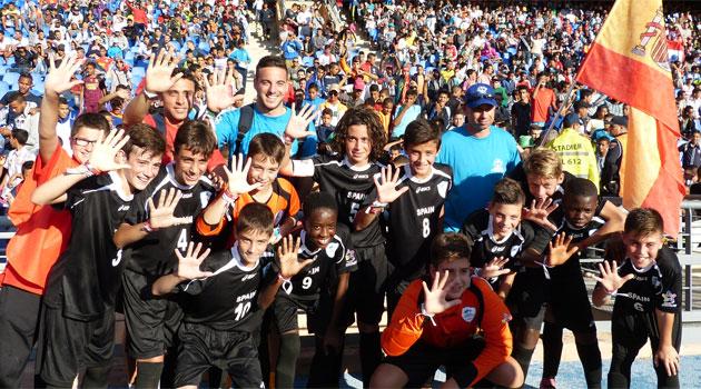 Danone Nations Cup: España logra un meritorio quinto puesto