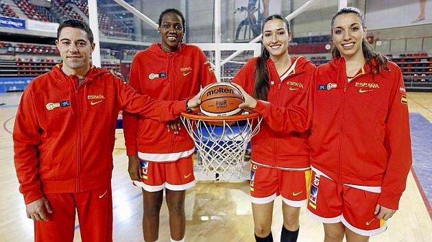 Vítor Lapeña, Belén Arrojo, Nogaye Lo y Laura Quevedo