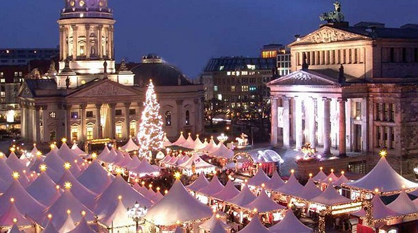 Resultado de imagen de mercadillo de navidad de Berlin