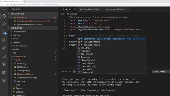 Visual Studio Online Free Esta tuani, Esta buena