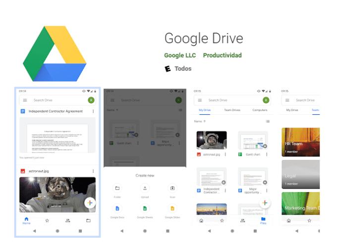 Apps que deberías tener en tu Smartphone Android google drive esta tuani