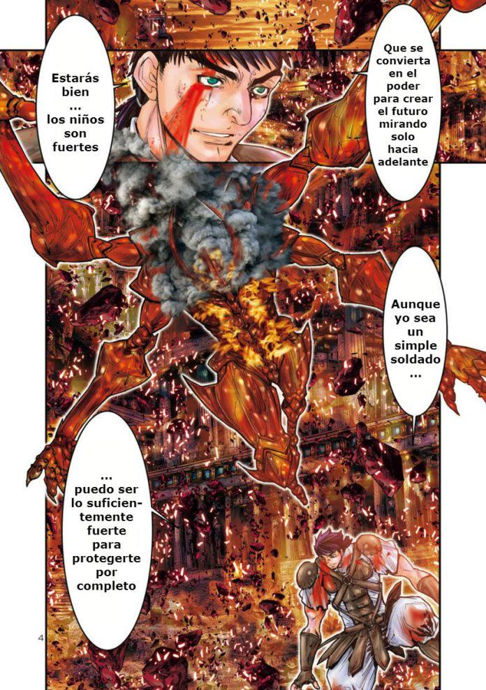 Saint seiya Episodio G Requiem Manga 1