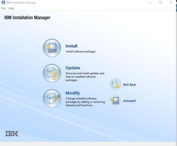 IBM Installation Manager, Esta Tuani, WAS, WebSphere Application Server