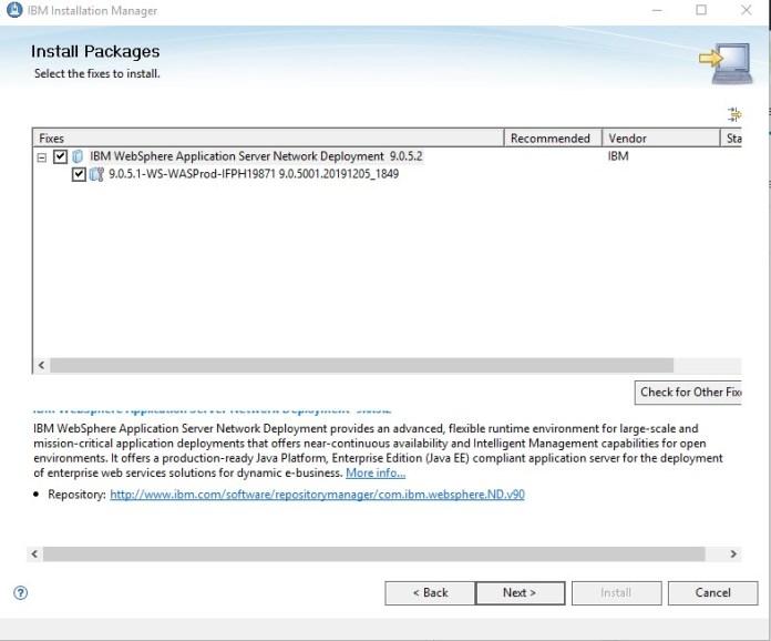 IBM Installation Manager