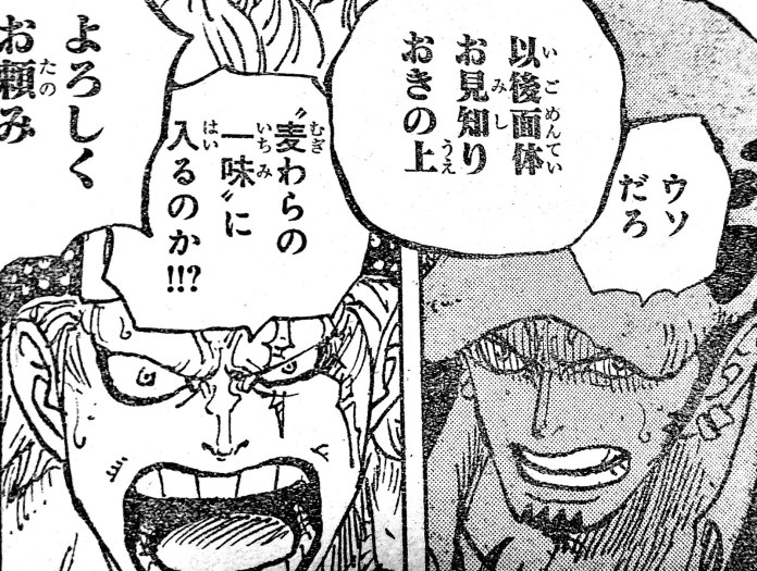 "One Piece Manga 976: Spoilers, ""¡¡¡Defenderemos nuestro destino!!!"""
