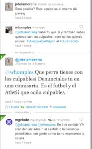 Conversación en Twitter con JR de la Morena