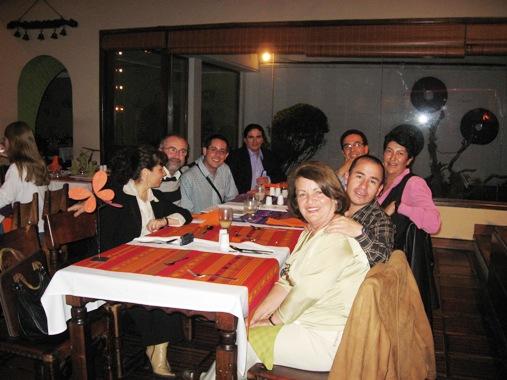 Cena con los docentes