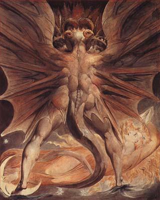 William Blake, El Gran Dragón Rojo
