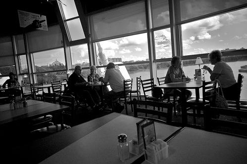 Cenando fuera