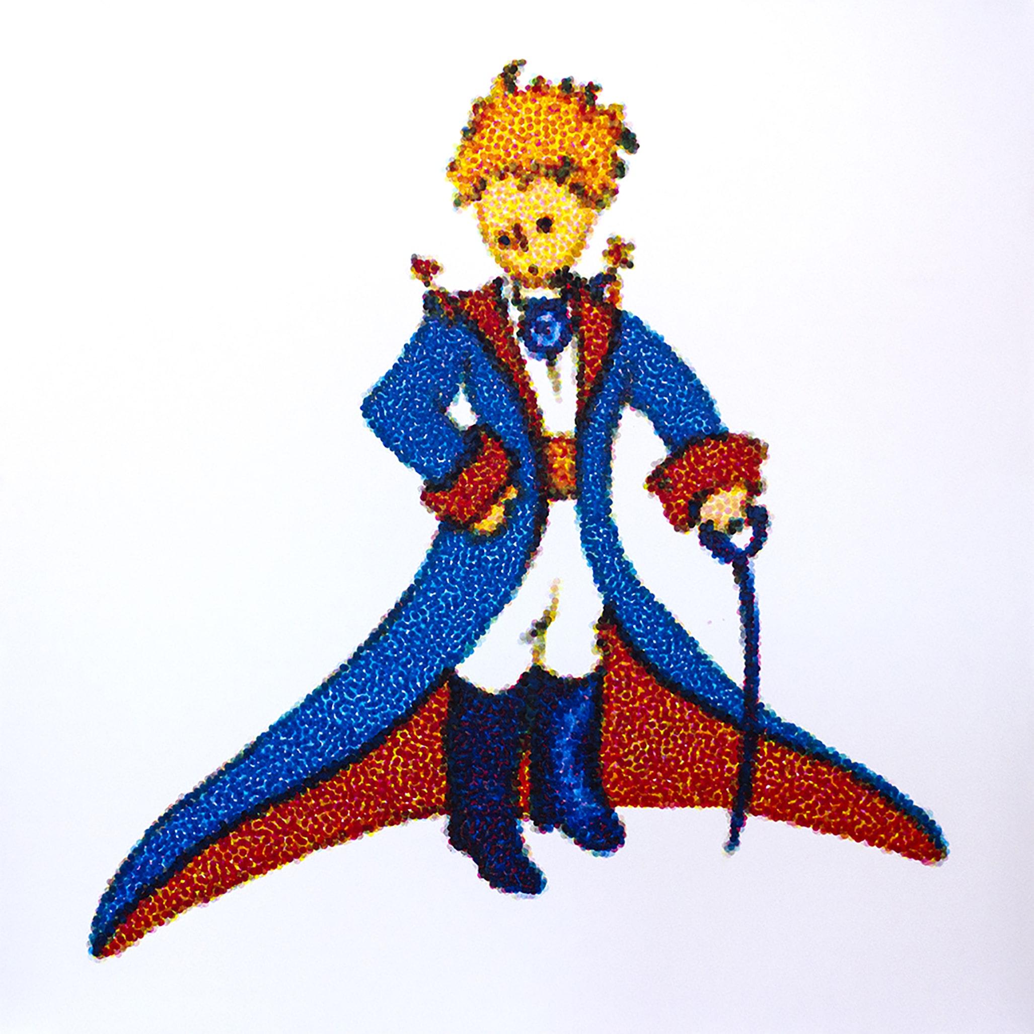 colour pait drops little prince esteban peña art