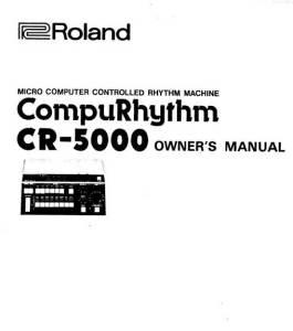 Cr 8000 Manual