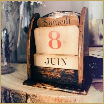 location calendrier retro