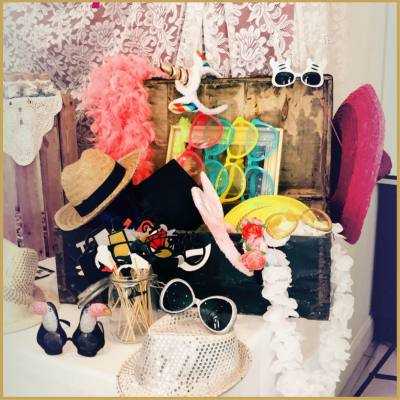 Location accessoires photobooth