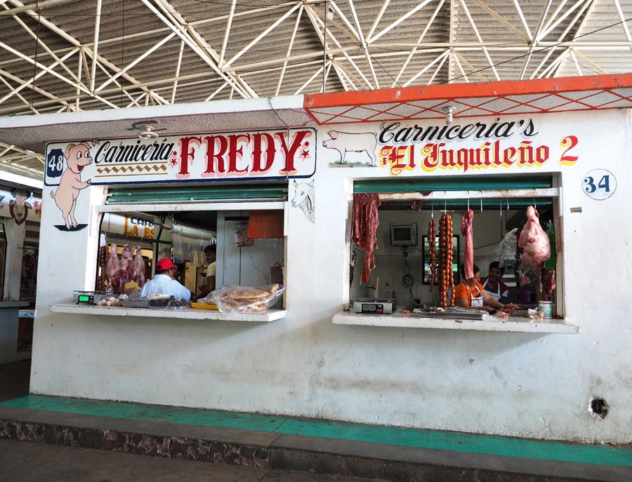 Bouchers marchés