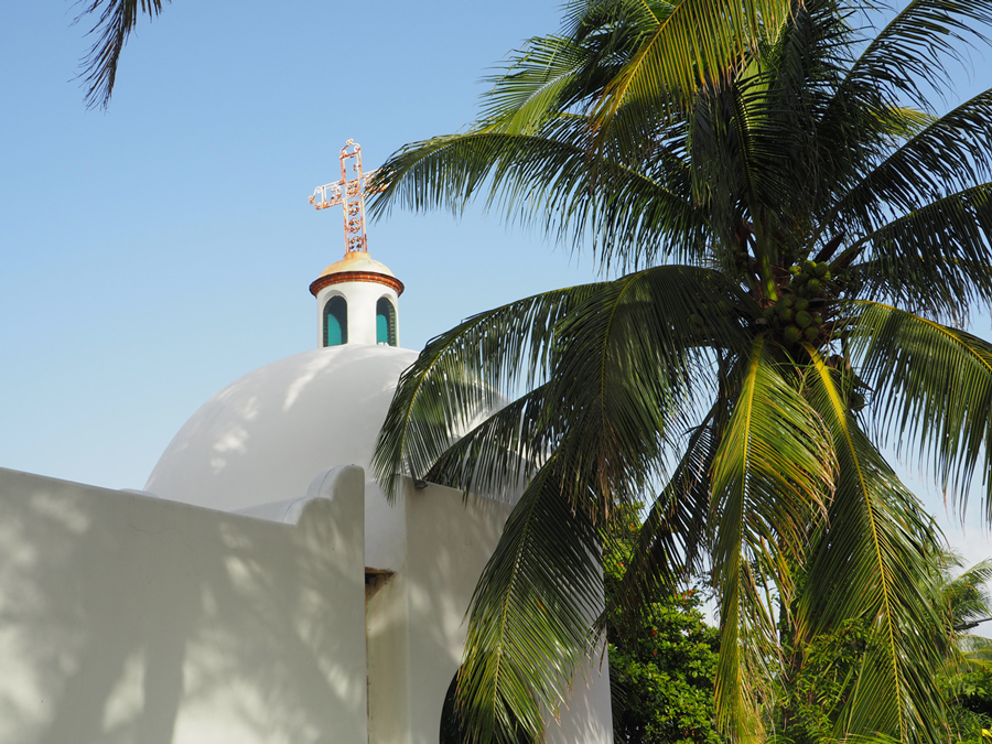 Playa del Carmen, église