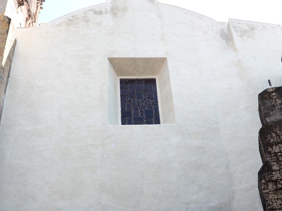 Détail de l'église de Cuernavaca