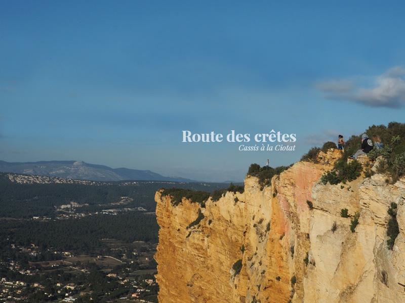 La route des crêtes, de Cassis à la Ciotat