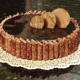 Chocolate Meringue Treasure