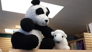 King Cole Cuddles - Panda and Lamb  - the new greeters