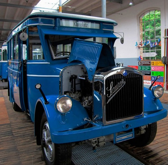 """One of the models of the """"Zaurer"""" bus has been preserved to this day in Switzerland"""