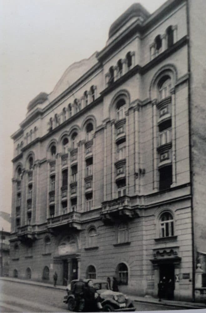 Samuel Sumbul, Home of the Sephardic Community, Kralja Petra Street 71, Belgrade, 1928. Photo: Jewish Historical Museum, Belgrade