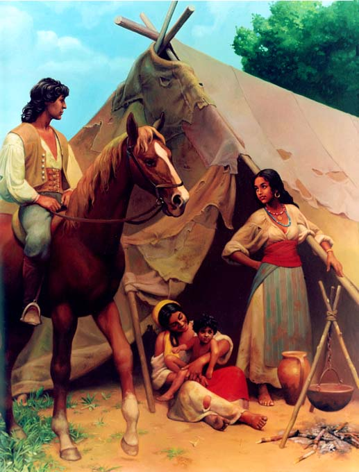 Ромска породична ношња у черги