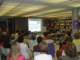 """Xerrada """"Viure sense pressa"""" (Biblioteca Bisbe Morgades - Manlleu)"""