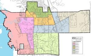 Village of Estero map