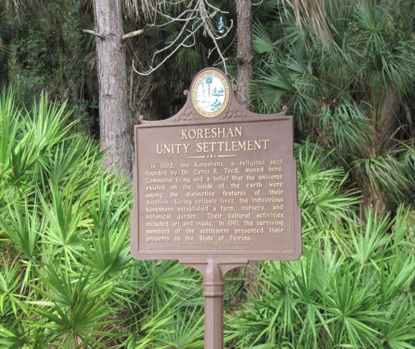 Summer Events at the Koreshan State Historic Site