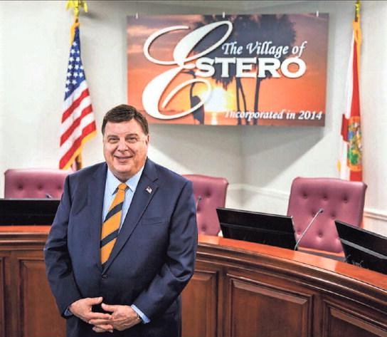 Village of Estero Mayor Bill Ribble honored with  2020 Home Rule Hero Award