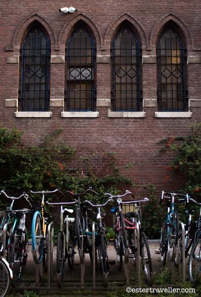 Bicicletas en Amsterdam