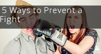 how to stop fighting