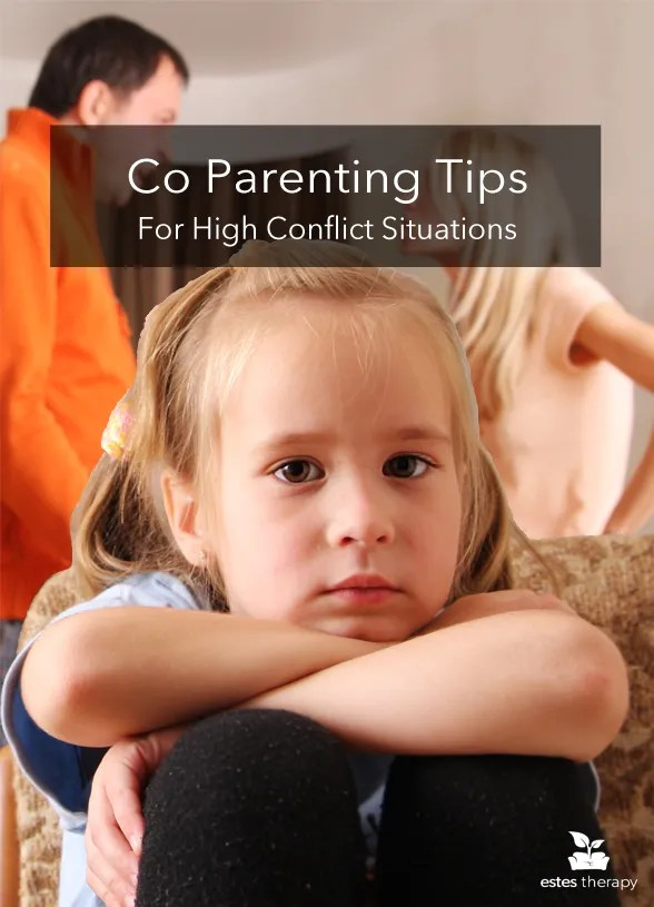 Co Parenting Tips for High Conflict Situations via @EstesTherapy | In the midst of high-stress situations, especially conflict between parents, the sweet souls of little humans can get lost in the mix. Even with the intention of protecting them, the big feelings and needs of little ones may be overlooked. These three mindful practices can make a difference with co-parenting, especially during times of conflict between parents.