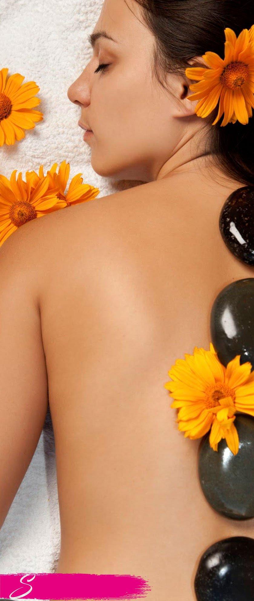 massaggio Hot Stonesensazioni