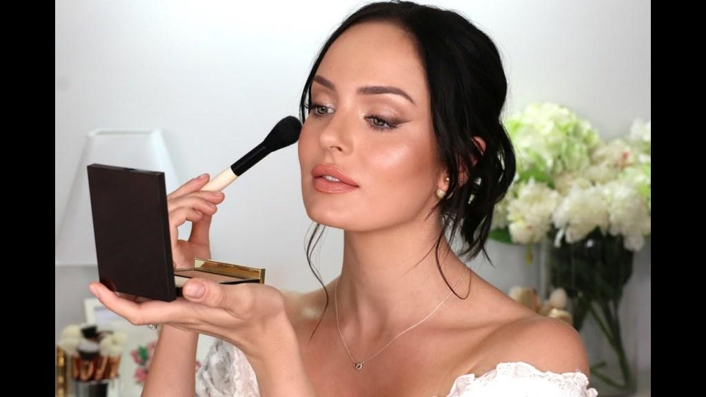 My Wedding Makeup! A Bridal Tutorial  Chloe Morello
