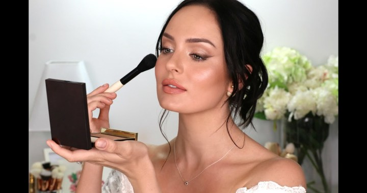 My Wedding Makeup! A Bridal Tutorial  Chloe Morello
