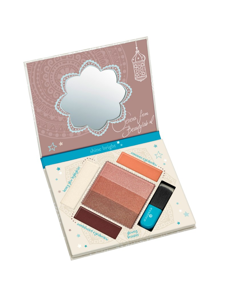 essence bloggers' beauty secrets the glow must go on bronzing and highlighting palette